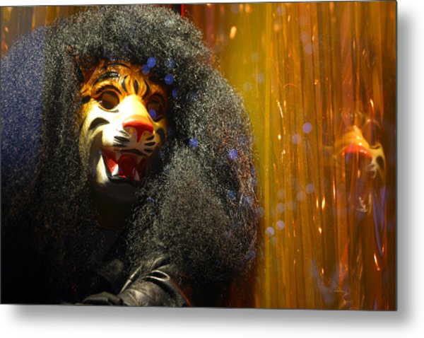 Grrr Metal Print by Jez C Self