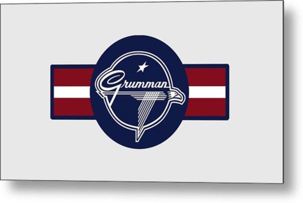 Grumman Stripes Metal Print