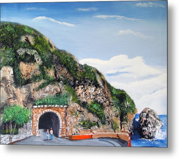 Guajataca Tunnel Metal Print