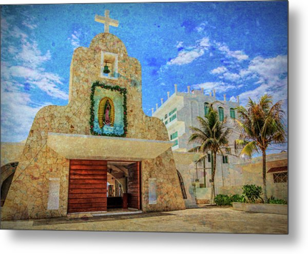 Gualdalupe Church Metal Print