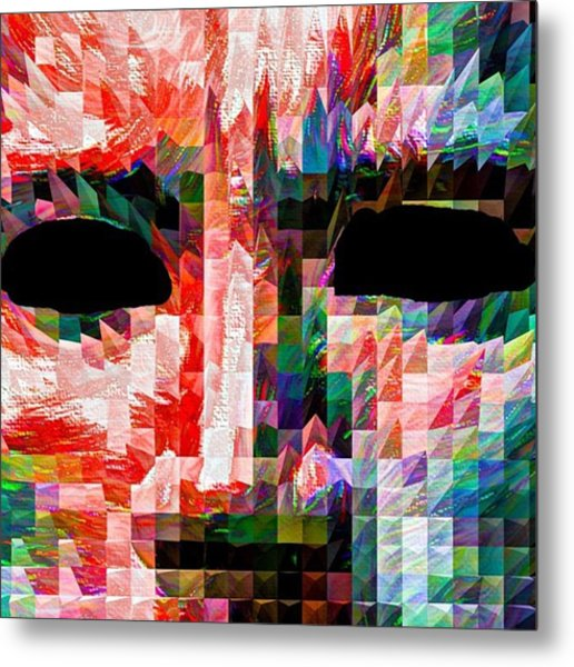 Guess This Person. Do You Know Who It Metal Print