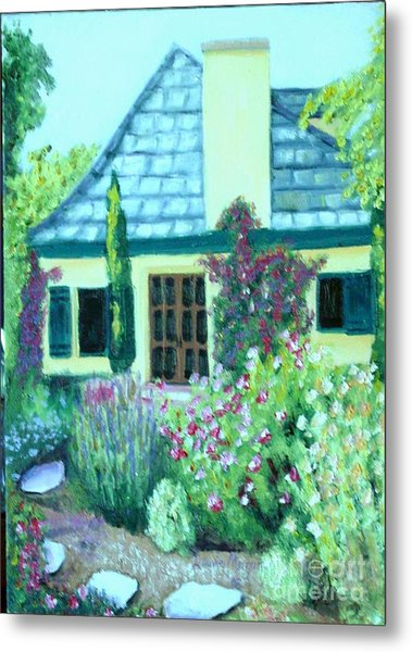 Guest Cottage Metal Print
