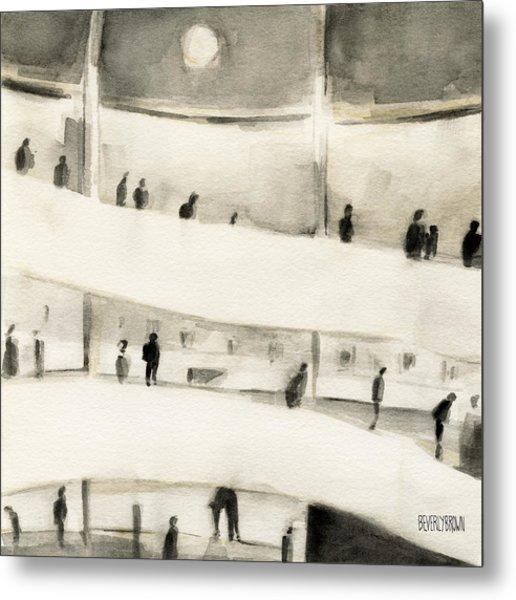 Guggenheim Inside Metal Print