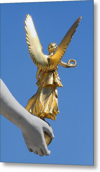 Guided Angel Metal Print
