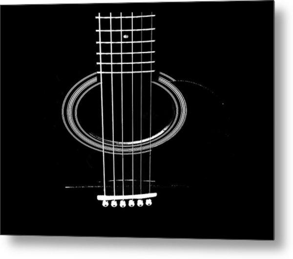 Guitar Strings Metal Print