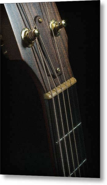 guitar tuner and neck digital art by michelle shockley