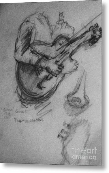 Guitarist Metal Print by Jamey Balester
