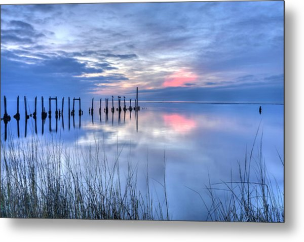 Gulf Reflections Metal Print