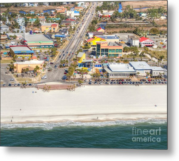 Gulf Shores - Hwy 59 Metal Print