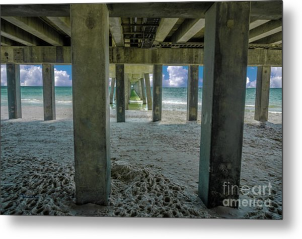 Gulf Shores Park And Pier Al 1649 Metal Print