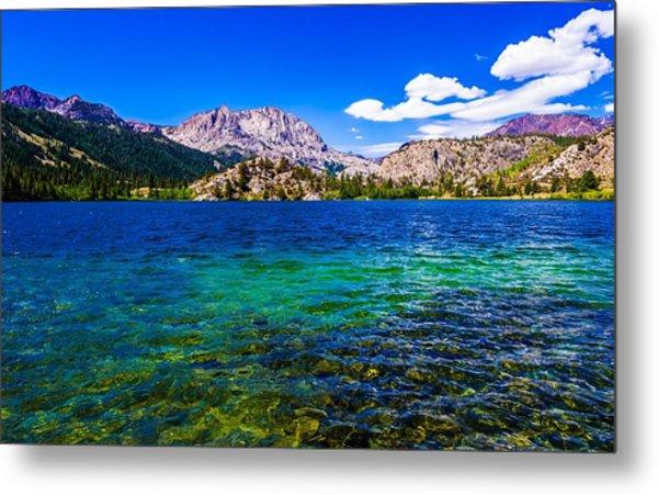 Gull Lake Near June Lakes California Metal Print