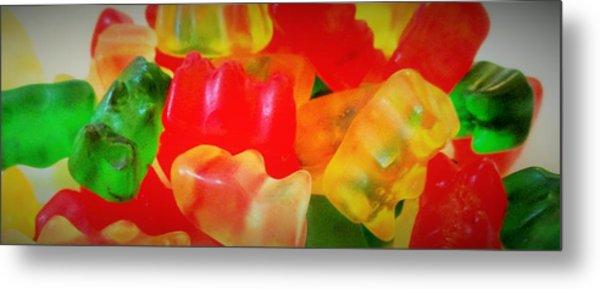 Gummies Metal Print