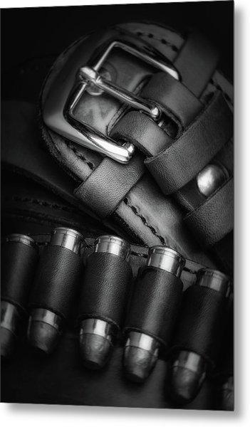 Gunbelt Metal Print