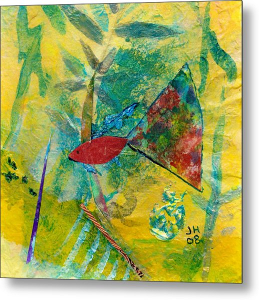 Guppy Metal Print by Jerry Hanks