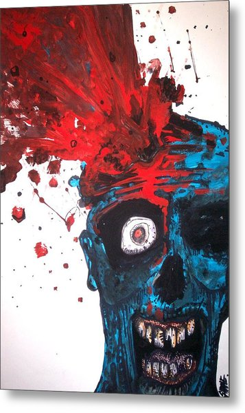 Gush Metal Print by Sam Hane