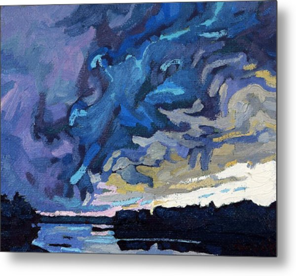 Gust Front Metal Print