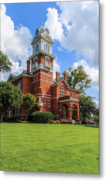 Metal Print featuring the photograph Gwinnett County Historic Courthouse by Doug Camara