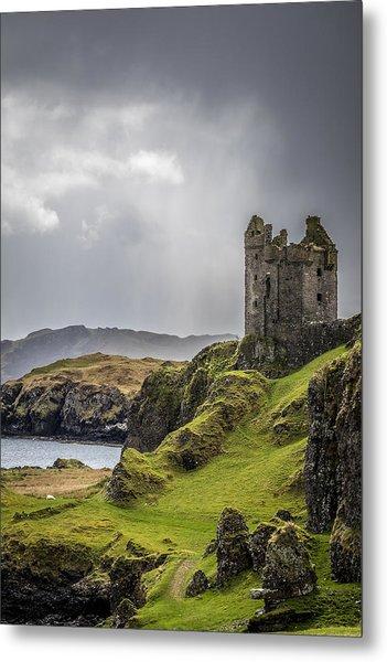 Gylen Castle On Kerrera In Scotland Metal Print