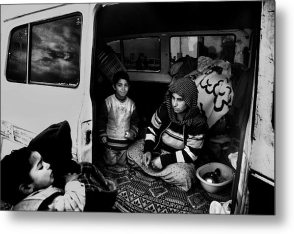 Gypsy Family Metal Print