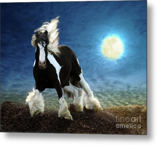 Gypsy Moon Metal Print