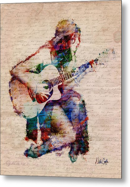 Metal Print featuring the digital art Gypsy Serenade by Nikki Smith