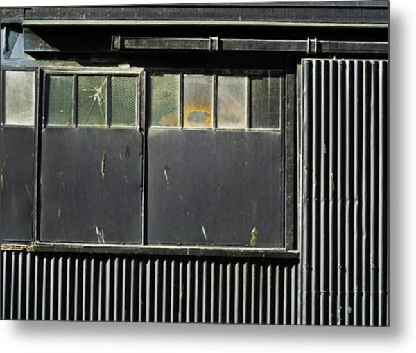 Metal Print featuring the photograph H3 Geometry by Adrian Pym