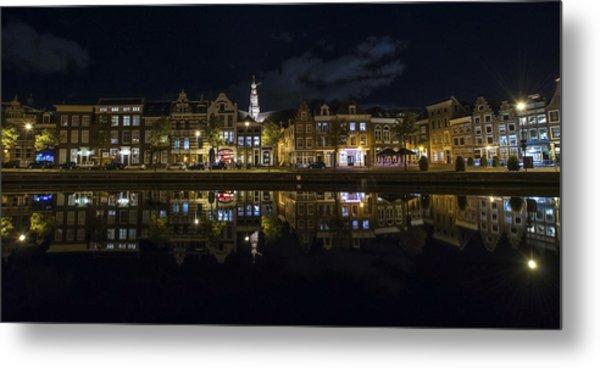 Haarlem Night Metal Print