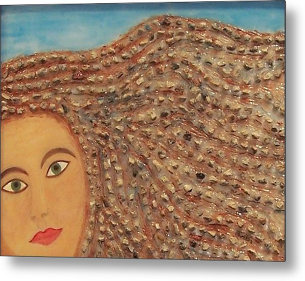 Hair Metal Print by Anneliese Fritts