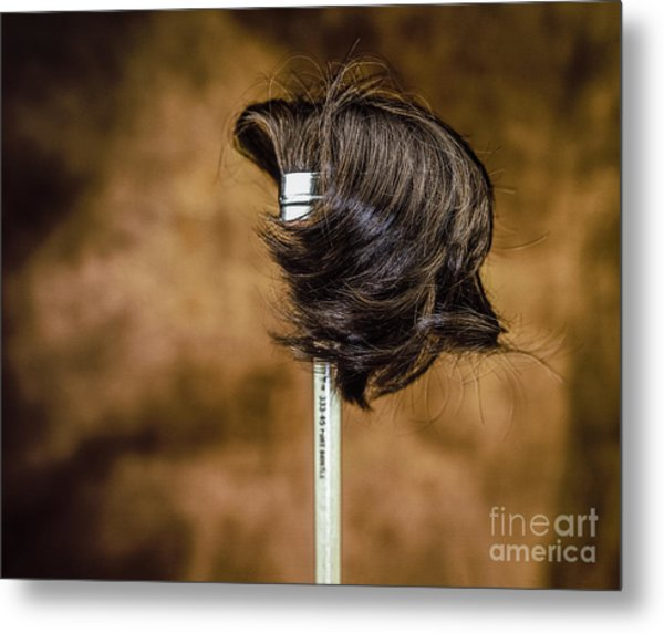 Hairbrush Metal Print
