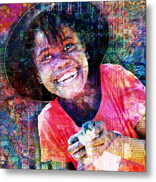 Haitian Daughter Metal Print