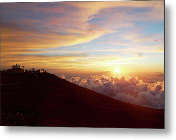 Haleakala Observatory Metal Print