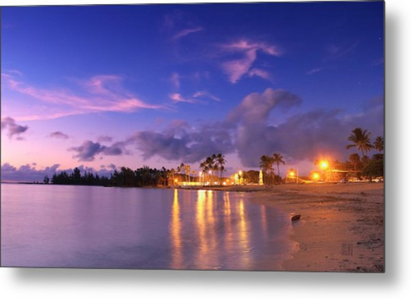 Hale'iwa Evening Metal Print