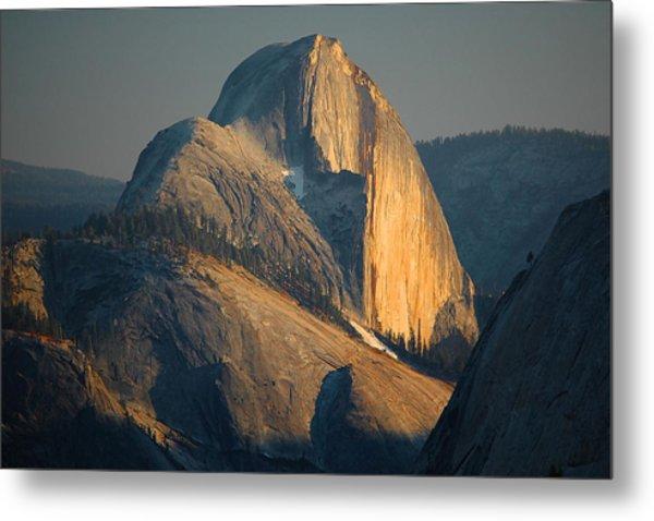 Half Dome At Sunset - Yosemite Metal Print by Stephen  Vecchiotti