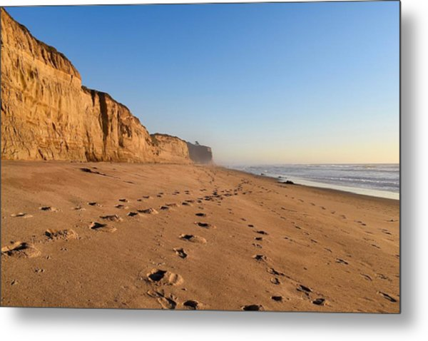 Half Moon Bay Metal Print