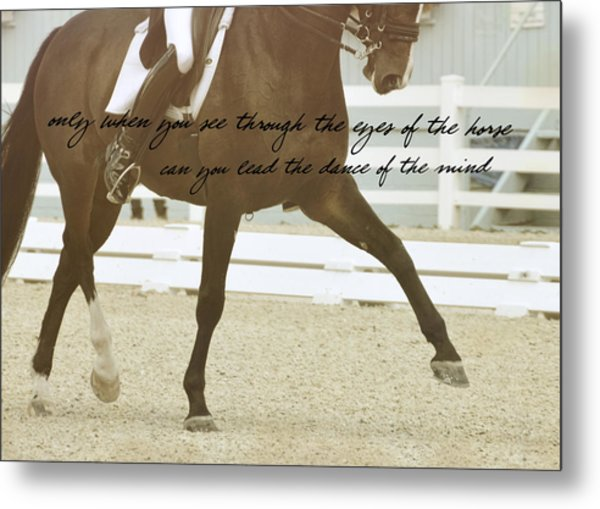Half Pass Quote Metal Print by JAMART Photography
