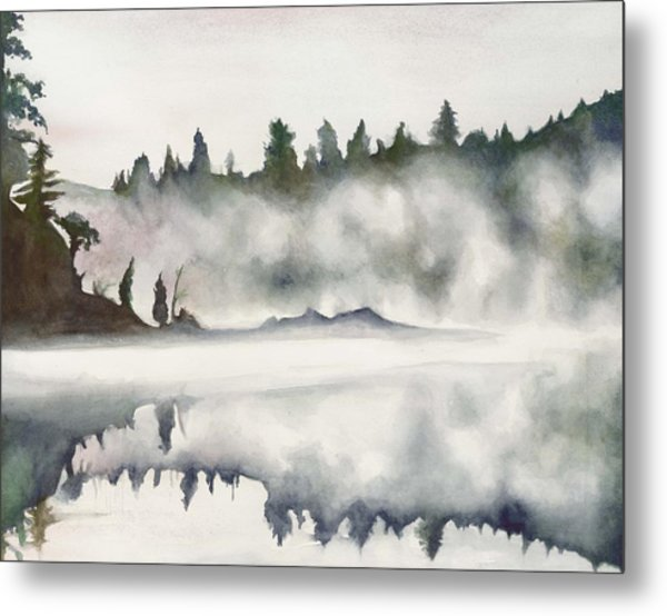 Haliburton Morning Metal Print