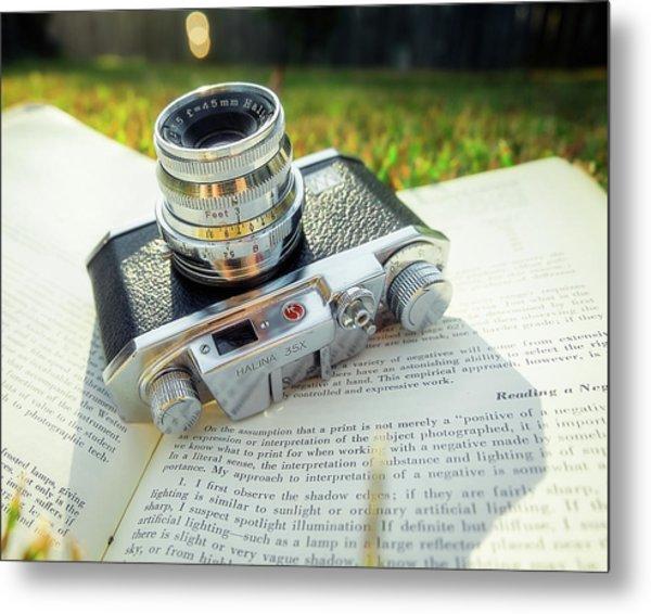 Halina 35x Rangefinder Camera Metal Print