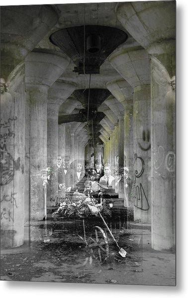 Hall Of Secrets Metal Print