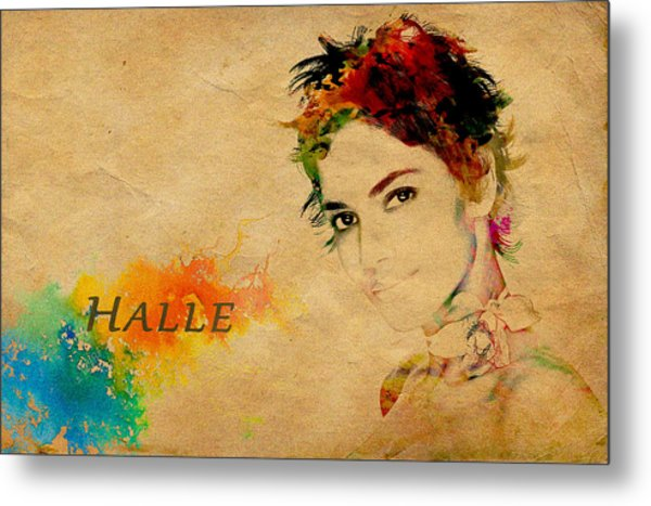 Halle Berry  Metal Print