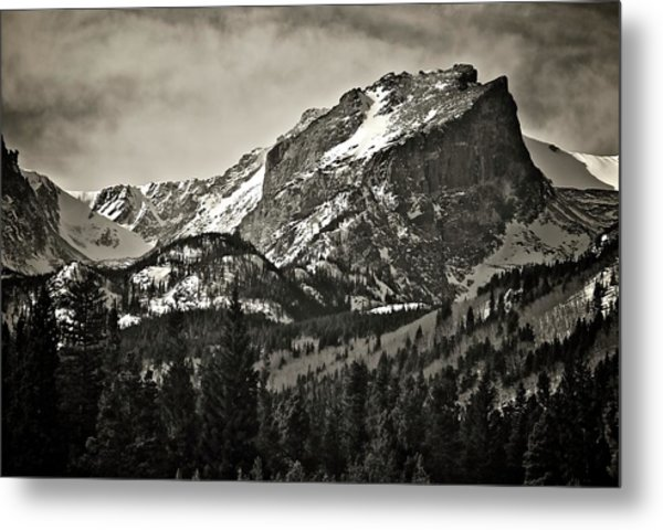 Hallet Peak, Rocky Mountain National Park Metal Print