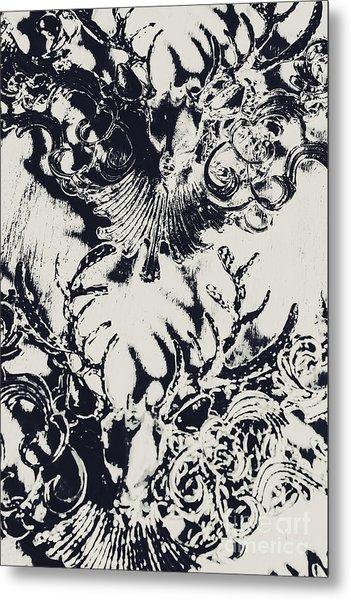 Halls Of Horned Art Metal Print