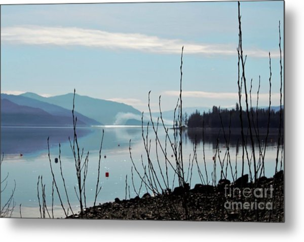 Halo On Copper Island Metal Print