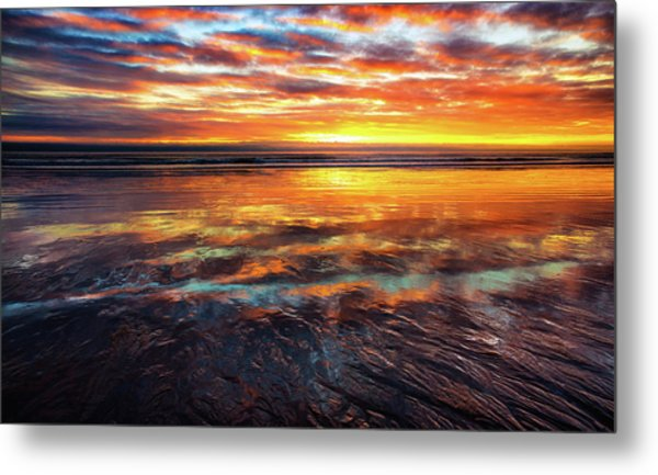 Hampton Beach Metal Print