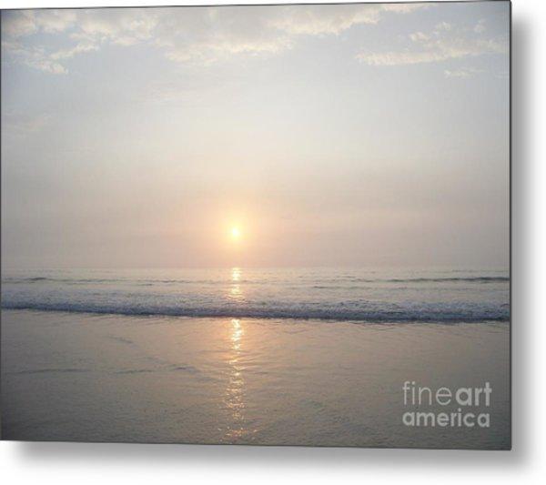 Hampton Beach Sunrise Metal Print