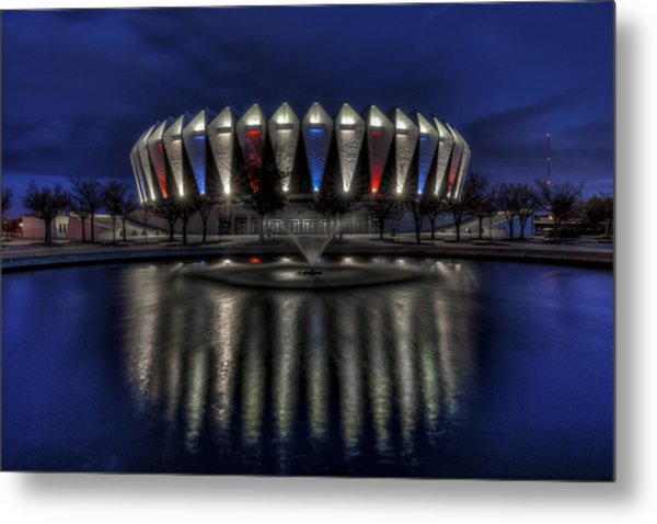 Hampton Coliseum Metal Print