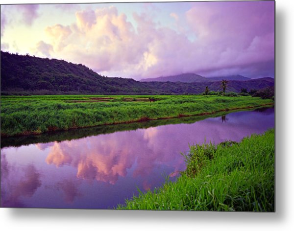 Hanalei Dawn Metal Print by Kevin Smith