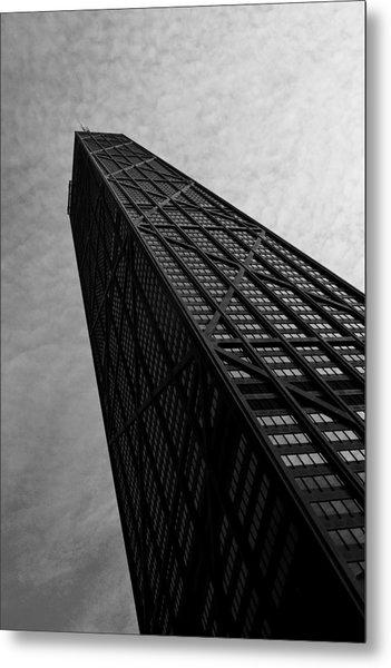 Hancock Building Metal Print