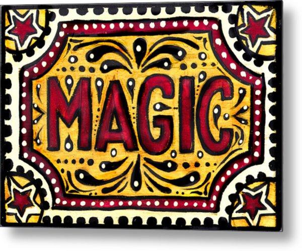 Hand Painted Magic  Metal Print