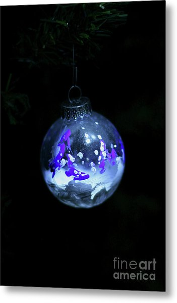 Handpainted Ornament 001 Metal Print