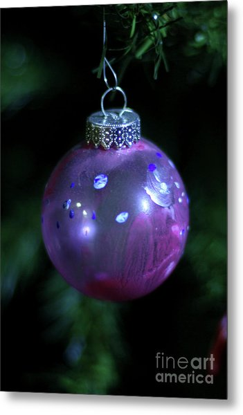 Handpainted Ornament 002 Metal Print